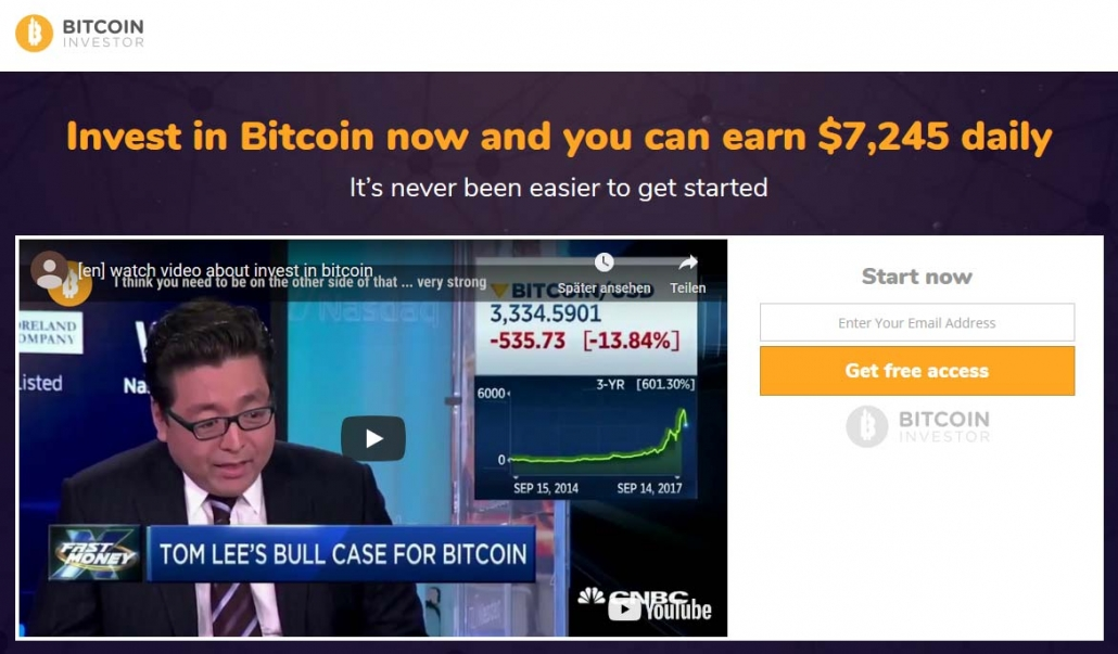 Bitcoin Investor Review